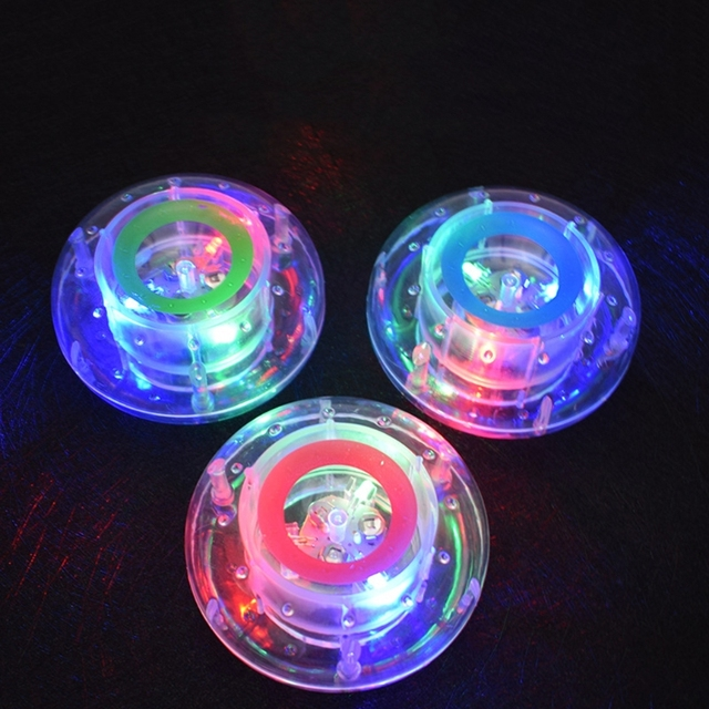 Bathroom LED Light Kids Color Changing Ball Toys Waterproof In Tub Bath Time Fun MAY23-D
