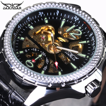 masculino mécanique bracelet verre
