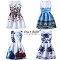 Ну вечеринку девочки-подростки платье девушка Vetement Fille цветок платья эльза принцесса софия платье для девочек 10 11 12 13 14 лет