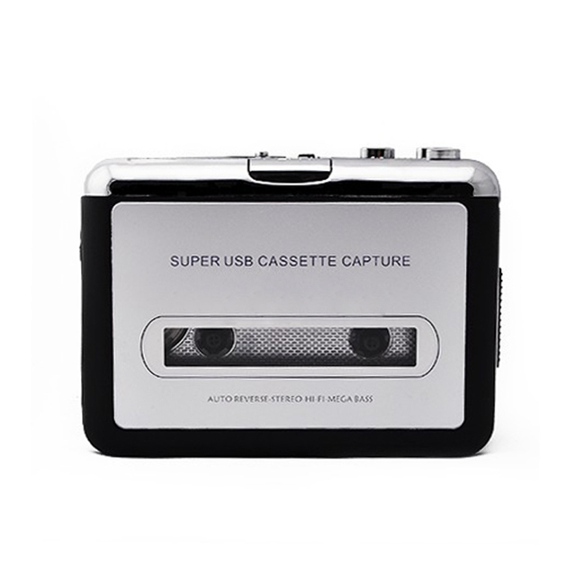 Cassette Tape USB Convertidor Convertidor de Música Reproductor de Audio Capture Plataforma para PC MP3