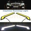 Super Brilhante 12 v Universal COB Bulb Car LED Daytime Running Luz de Condução Da Lâmpada COB para chevrolet cruze