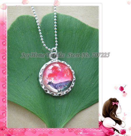 ~Lucky Bear~  Bronze Resin Jewelry,Fashion Necklace, Cute Pendant, Chain necklace, Nice Gift, 5pcs/lot, Free Shipping