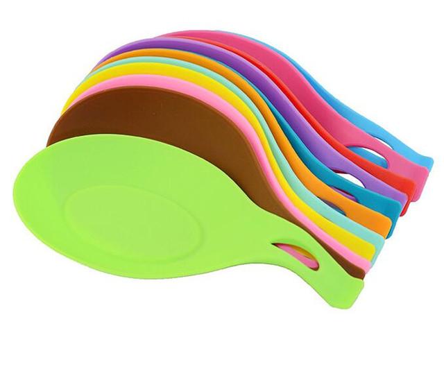 Kitchen Accessories 1 Pcs European Style Silicone Spoon