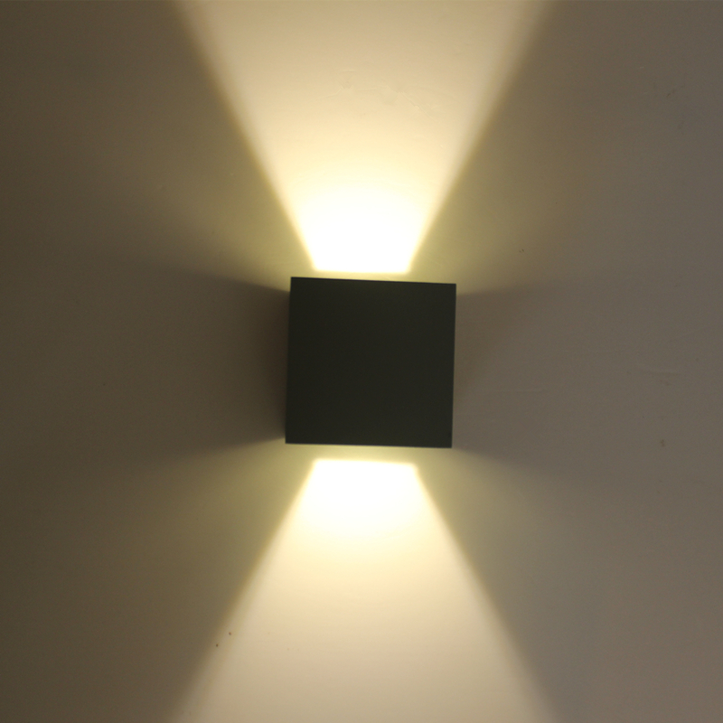 Modern LED Wall Lamp Cube Adjustable Lights Surface Mounted 7W Outdoor Lighting Waterproof IP65 Wall Lights