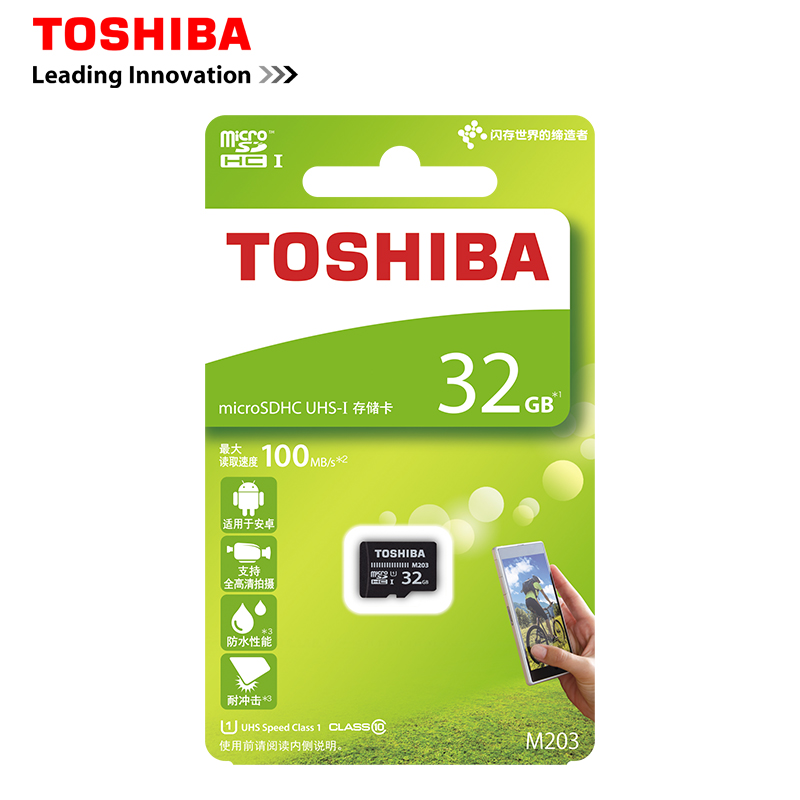 Toshiba Memory Card 32GB Micro sd card Class10 UHS-1 Flash Cards Memory Card Microsd for Tablet/Smartphone Official Verification