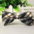 Moda 2017 Moda Ajustável Único Tuxedo Bowtie dos homens da Festa de Casamento Gravata Gravata borboleta Acessórios de Vestuário Casual