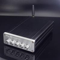 2019 New Breeze Audio DP1 HiFi 2.1 Channel TPA3116D2 Full Digital Audio Amplifier 50W*2+100W*1 Subwoofer Amplifier Bluetooth5.0