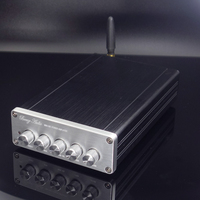 2019 New Breeze Audio DP1 HiFi 2.1 Channel TPA3116D2 Full Digital Audio Amplifier 50W*2+100W*1 Subwoofer Amplifier Bluetooth5.0