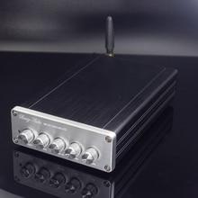 2020 New Breeze Audio DP1 HiFi 2.1 Channel TPA3116D2 Full Digital Audio Amplifier 50W*2+100W*1 Subwoofer Amplifier Bluetooth5.0