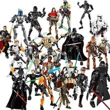 32 style KSZ Star Wars Rogue One Toys Jango Phasma Jyn Erso K-2SO Darth Vader General Figure toy building LegoINGlys blocks Toys