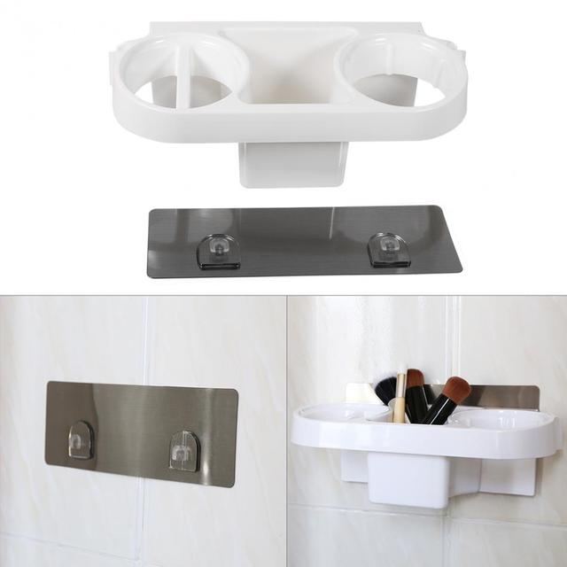 Multifunction Wall-Mounted Suction Hair Dryer Drier Comb Storage Holder Rack Stand Set Plastic Bathroom  sc 1 st  AliExpress.com & Multifunction Wall Mounted Suction Hair Dryer Drier Comb Storage ...