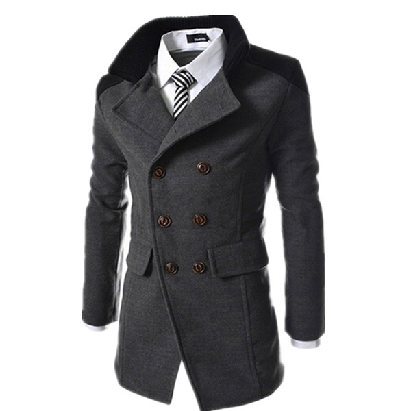 Hot Sale Men Autumn & Winter Outerwear Coat Men Jacket Double ...