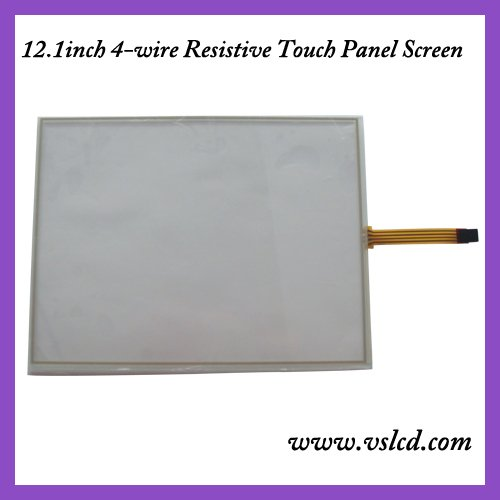 12.1inch 4 wire resistive touch screen panel 12.1inch touch panel work for 12.1inch tft lcd display new 10 1 inch 4 wire resistive touch screen panel for 10inch b101aw03 235 143mm screen touch panel glass free shipping