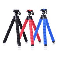Fusitu Octopus Mini Portable Flexible Mobile Mini Tripod Stand Gorillapod For iPhone 6 7 GoPro Canon Nikon Sony Camera&Ball Head
