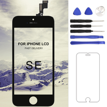 купить For iphone SE Display LCD Screen For OEM Quality Digitizer with Touch Screen Assembly Black&White For iphone SE LCD Display по цене 733.38 рублей