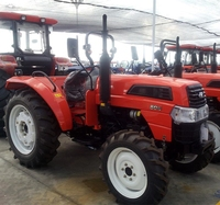 50 HP 4 drive Large Agricultural Transport Machinery Farm Working Machine Large Four Wheel Tractor