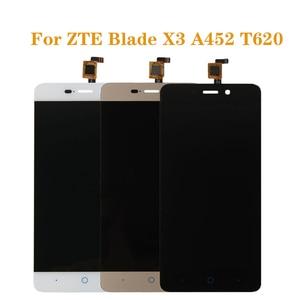 Image 1 - Für ZTE BLADE X3 A452 t620 LCD display und touch screen digitizer komponente ersatz für ZTE A452 LCDFree verschiffen + werkzeuge