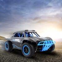 RC voiture 2.4G Radio télécommande voiture 1/18 25 KM/H haute vitesse échelle court Course camion RC RTR jouets 4WD hors route voiture cadeaux de noël