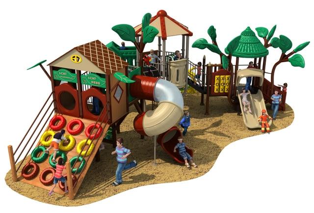 Backyard Playground Accessories Natural outdoor playground flooring playground  equipment commercial YLW-OUT180318 - Backyard Playground Accessories Natural Outdoor Playground Flooring