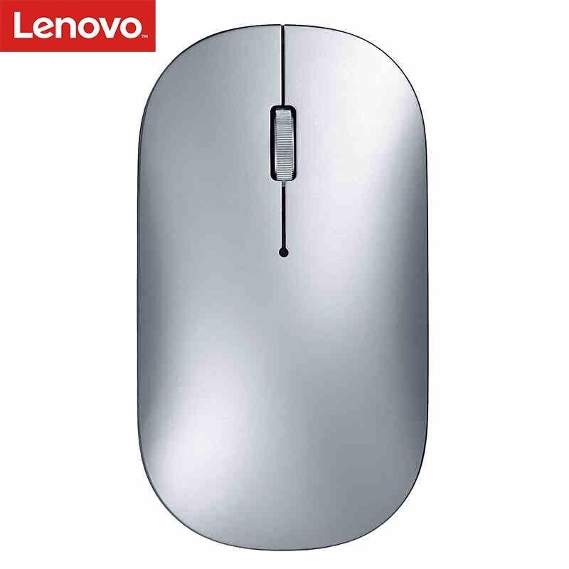 Lenovo xiaoxin rato de ar 2018 novo sem fio (bluetooth) duplo-modo com 4 k dpi suporte verificação oficial para windows7 8 10, mac