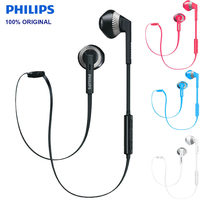 Original Philips SHB5250 wireless Bluetooth 4.1 Sport Earphone Earplugs Headset For Samsung Huawei Xiaomi Mobile Phone Official