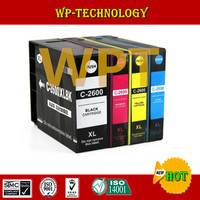 1Set Compatible Ink Cartridge For PGI2600 PGI 2600 PGI 2600 Full Pigment Ink For Canon MAXIFY