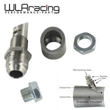 WLR RACING-выхлоп из нержавеющей стали вакуумный комплект Catch Can Vent E-VAC комплект scavenger включает T304 SS E-VAC фитинг