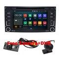Бесплатная Доставка 1024X600 Quad Core 2 Дин DVD GPS для VW Touareg Android 5.1 Multivan T5 Transporter 2004-2011 3 Г Стерео системы