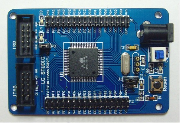 Free Shipping!!!  ATmega64 M64 AVR development board core board minimum system