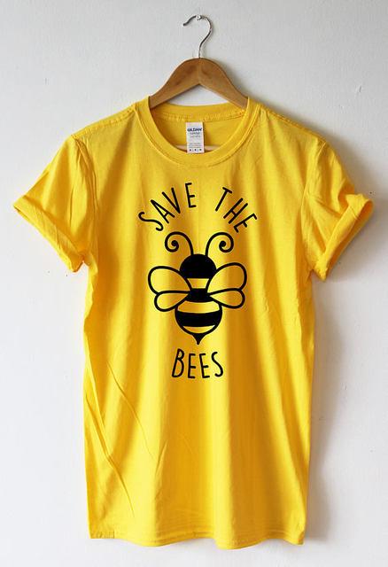 42644e482 Hillbilly Save The Bees Tshirt Women Shirt T-shirt Bees Clothing Nature  Environment SCREENPRINT Super