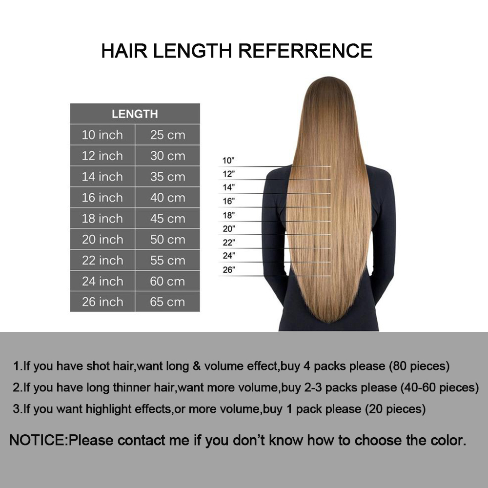 Image 5 - Moresoo 14 24 inch Tape in Human Hair Extensions Real Brazillian Remy Hair Ombre Balayage Colored Hair 2.5G/PCS 25G 100G-in Tape Hair Extensions from Hair Extensions & Wigs