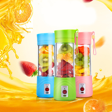 Portable Colorful Healthy Juice Blender Mini Mixer Juicer Cup Travel USB Rechargeable