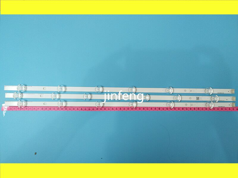 New 3pcs(2*A*6LEDs,1*B*7 LEDs) LED backlight strip Replacement for LG TV 32LN540 32LN550FD Innotek POLA2.0 32 inch A B type