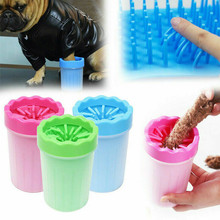 Pet Paw Cleaner Cup Soft Silicone Combs Portable Foot Washer Clean Brush Quickly Wash Dirty Cat Cleaning Bucket