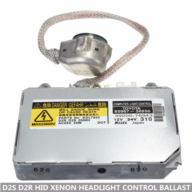 Hot OEM KDLT002 85967 50020 D2S D2R 35W HID XENON Ballast and Ignitor for lexus headlight