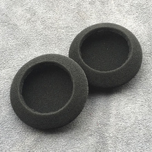 цена на Freeshipping 50pcs/25pair big 5cm Ear Pad Foam Earbud sponge Cover Headphones Thicken wholesale PC130 PC131 PX100 H500 Universal