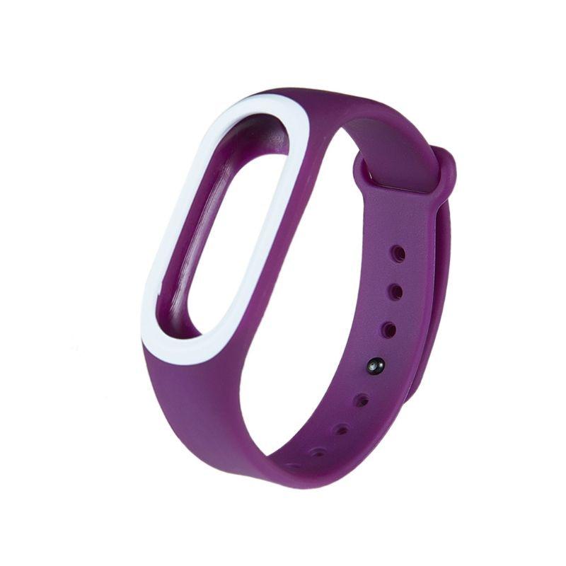 Силиконовые Красочные Браслет спорта ремешок для Xiaomi Эй плюс Smartband - Цвет: PL