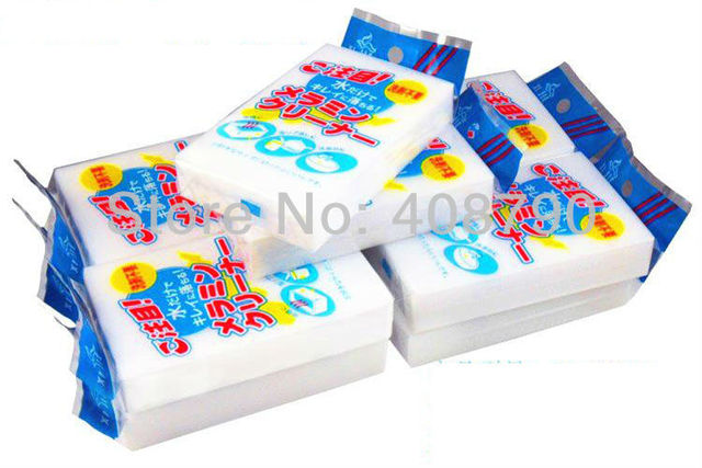 Free shipping 10pcs/lot Magic Sponge Clean Car Wash Cleaner Kitchen Cleaning Eraser Stain Remover