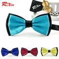 Novo 2016 marca de moda laço Formal laço comercial masculino gravata borboleta casado gravata decoração laços para homens borboleta laços