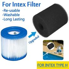 3 Sizes Swimming Pool Filter Foam Reusable Washable Sponge Cartridge Suitable Bubble Jetted Pure SPA For Intex S1 Type