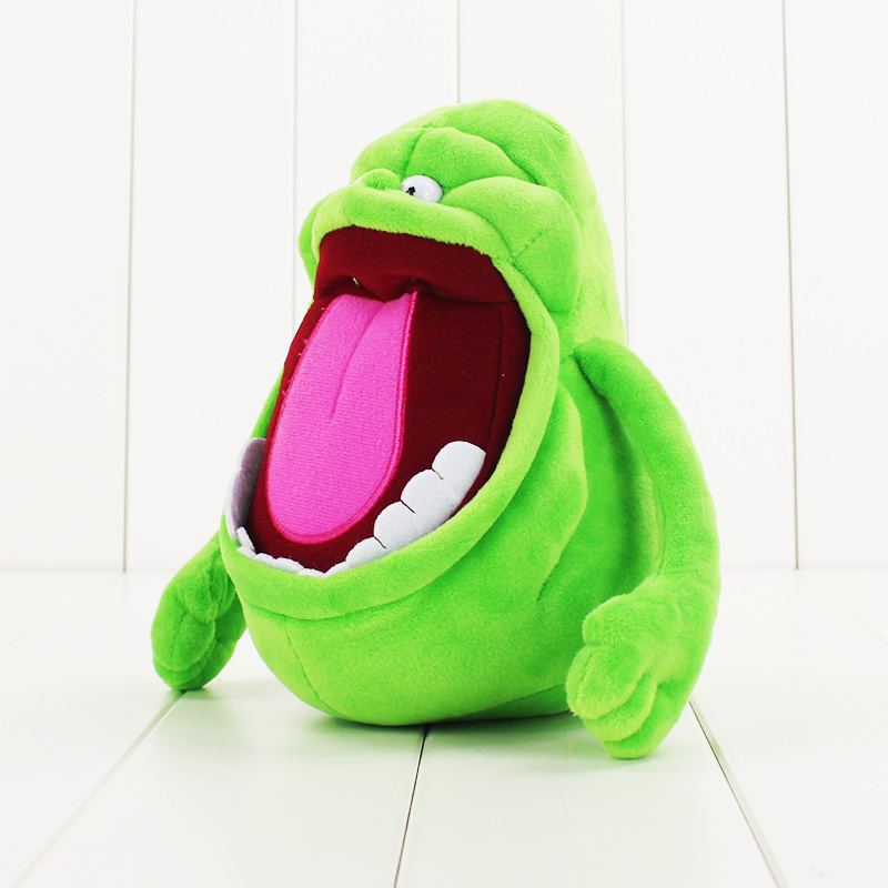 19CM Anime Cartoon Movie Toys Ghostbusters Slimer Medium Plush Toys Dolls