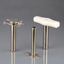 7*1/ชุดสแตนเลสห้องปฏิบัติการ punch พร้อม handle, ยางที่มีฟัน perforator, DIY เครื่องมือเจาะ