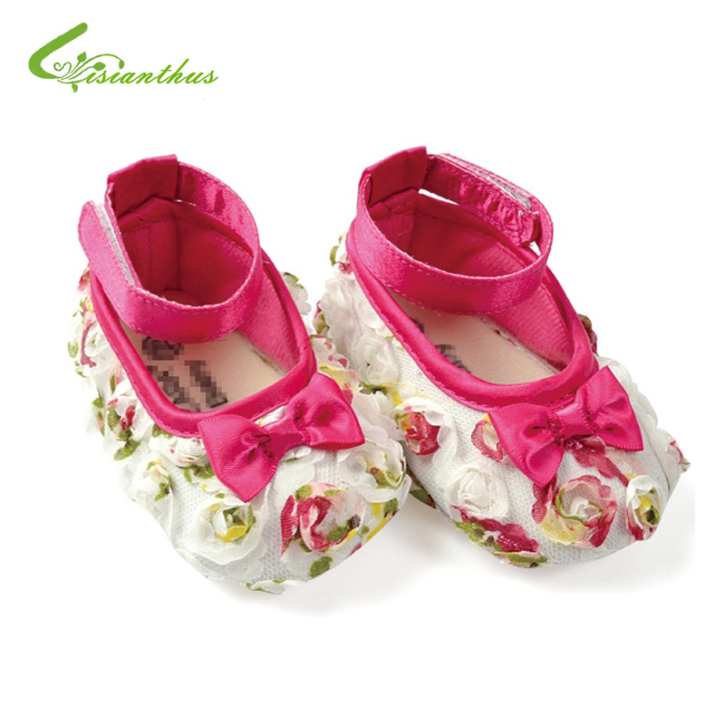 Baby Girl Rose Flower Shoes Toddlers