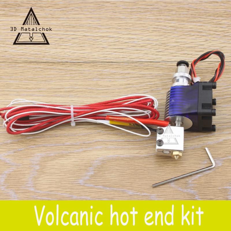 3D Printer accessories parts 12V 24V Volcano kit J head Hotend for 1 75mm 3 0mm