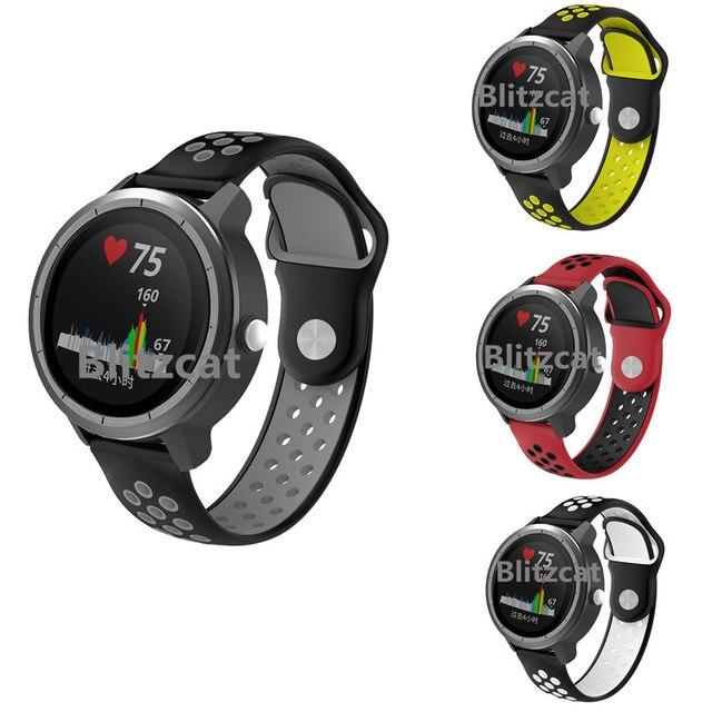 החלפת סיליקון יד בנד רצועת שעון צמיד רצועת השעון חכם ספורט עבור Garmin Vivoactive 3 אביזרים