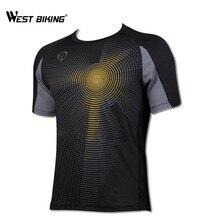 WEST BIKING 2017 Original T-Shirt Breathable Sports Cycling Jersey  Comfortable Sportswear Road MTB Bike 3d5932290