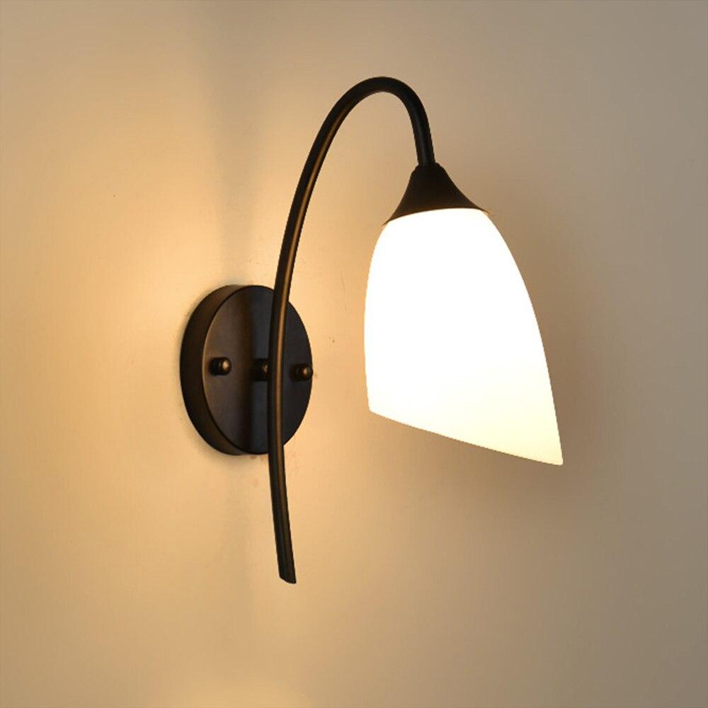 Hghomeart внутреннего освещения Винтаж настенный светильник Luminaria E27 светодиодный настенный светильник 110 В-220 В настенные прикроватные лампы со...