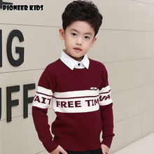 Pioneer Kids Pull Enfant Garcon Roupas Infantis Menina For Boy Winter Autumn Infant Sweater Child Baby