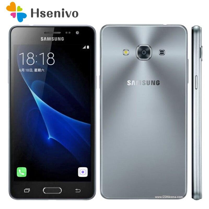 Original Unlocked Samsung Galaxy J3 Pro J3119 Mobile Phone Snapdragon 410 Quad Core 4G LTE Dual