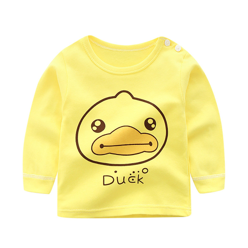 baby kids tops cotton cartoon unisex t shirt tee lovely long sleeve pullover sweatshirts roupa thin soft sweet clothes 4de10 (9)